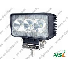 Luz de trabajo del poder más elevado 9W EMC LED, lámpara de trabajo del tractor LED