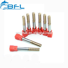 Standard Counterbore Sizes 6 Flutes Finishing Special Tungsten Carbide End Mill Ultra Micro Drilling Aluminium End Mill