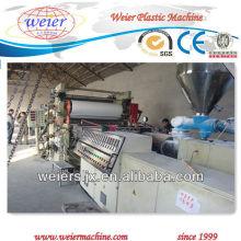 free foamed plastic pvc sheet machine