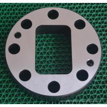 Kundengebundener anodisierter Stahl maschinell bearbeiteter Teil im hohen Präzisions-Willkommen Soem
