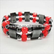 01B5003-1 / nouveaux produits pour 2013 / hematite spacer bracelet en bijoux bracelet / hematite / hématite magnétique bracelets de santé