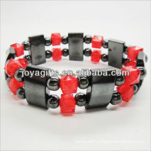 01B5003-1/new products for 2013/hematite spacer bracelet jewelry/hematite bangle/magnetic hematite health bracelets