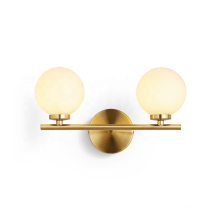 New Design Hotel Bedroom Wall Sconce Glass Ball Wall Lamp For Home