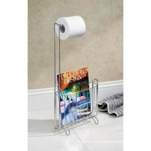 Classico Magazine e Toilet Tissue Stand