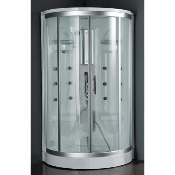 Mamparas de ducha de vidrio con forma de plato de ducha acrílico