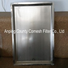 Food Grade Stainless Steel Oven Perforated Tray
