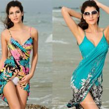 2017 heißer Verkauf Frauen Full Sexy Backless Strand Kleid XXX Fotos