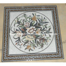 Pattern Mosaic Marble Stone Mosaic Floor Tile (ST99)