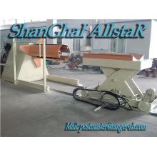 Galvaniser acier dérouleuse hydraulique de shanghai allstar