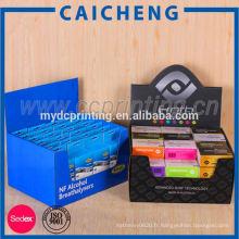 Emballage de boîte d'affichage de carton de sucrerie avec l'impression faite sur commande