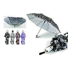 Water Ripple Windproof 3 Fold Automatic Umbrella (YS-3FA22083902R)