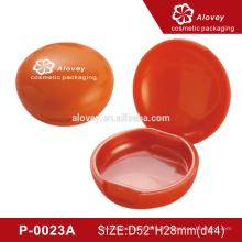 P-0023A Пустая упаковка упакованного порошка красная компактная пудра