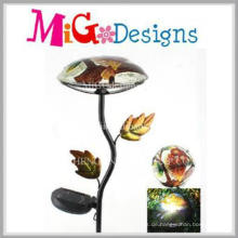 Top-Qualität Pilz geformt Solar Light Metal Garden Stake
