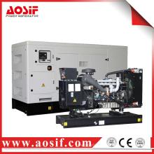 200KW / 250KVA 50hz generador con perkins motor 1506A-E88TAG5 hecho en Reino Unido