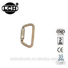 mini carabiner aluminum with zinc alloy carabiner