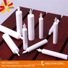 D19mm tube en plastique blanc avec torsion