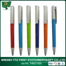 Дешевая рекламная пластиковая шариковая ручка