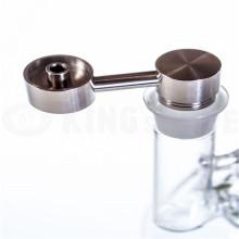 Безрукавственный титановый гвоздь с рукояткой для курения с наружной стороны (ES-TN-026)