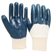 NMSAFETY nitrile coated mechanical oil-resistant working gloves