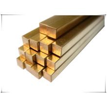 Barre carrée en cuivre C26200 de 15 mm d'épaisseur