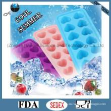 12-Cavity Silikon-Eiscreme auch für Kuchen, Pudding, Lutscher und Schokolade Si21