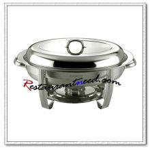 Juego de platos ovales de acero inoxidable C090