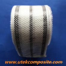Cinta híbrida de fibra de carbono 200G / M2 con ancho de 8 cm