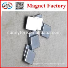 N40 цинка прямоугольник формы магниты