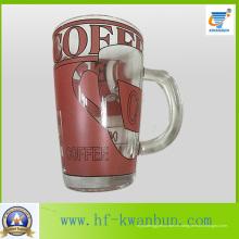 Taza de cerveza y copa de vidrio de impresión de copa Kb-Hn0722