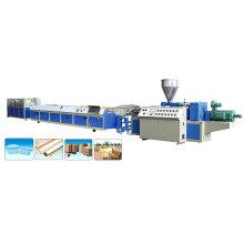 Yf High Efficiency Wood Plastic Composite Extruder