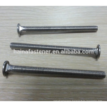 flat head Carriage Bolt With Square Neck Head