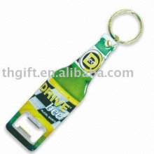 Anéis de chaveiro de garrafa de metal com logotipo personalizado