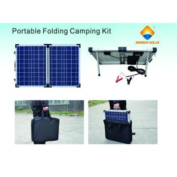 Poly / Mono 40W-200W Módulos portáteis de dobramento solar
