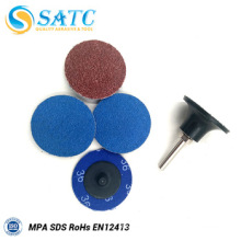 36#-240# zirconium oxide round quick change disc for grinding About