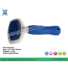 Grooming Tools with Silicon Handle Pet Brush