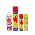 2017 hot sale butane lighter gas refill 250ml