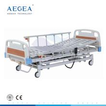 АГ-BY103 высота регулируемая 3-function электрические ручные медицинские больничные койки
