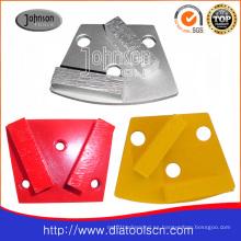 Amoladora de diamante de dos segmentos para hormigón y piedra