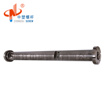 twin screw barrel for plastic extruder pipe production line