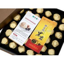 The gift gold black garlic,natural green food from china