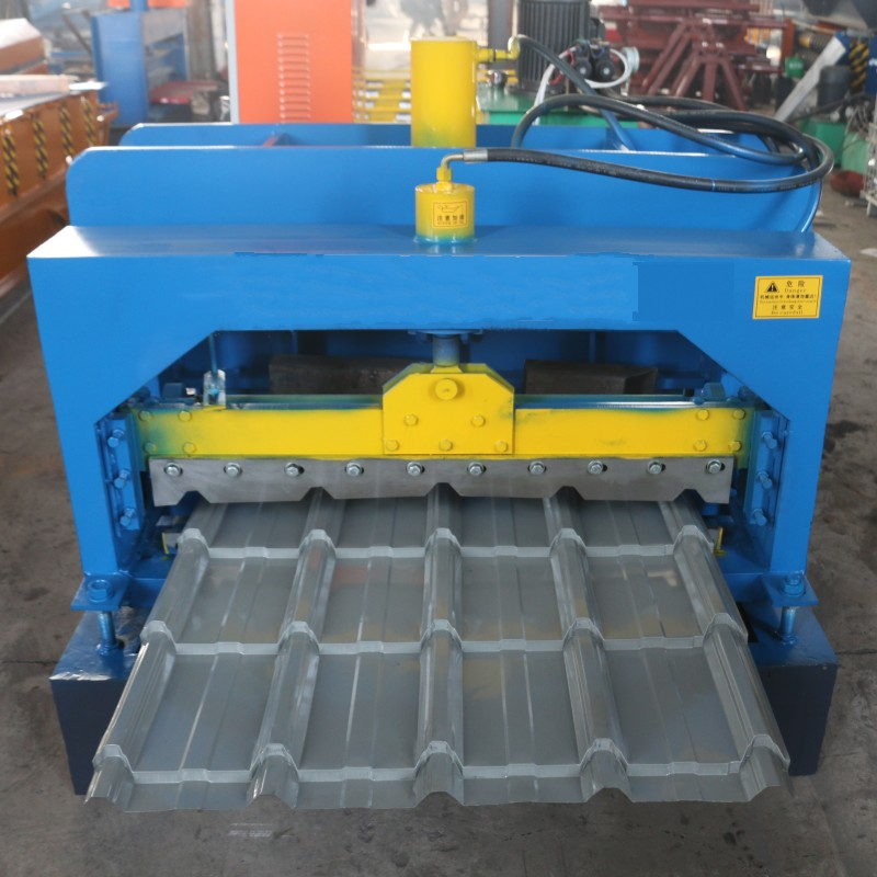 Single Layer Glazed Roof Sheet Machine