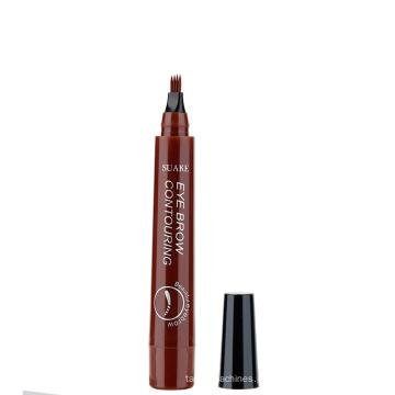 Microblading Waterproof Fork Tip Liquid Eye Brow Pencil