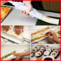 Chef Sushi Roll Maker Making Kit Mold Sushezi Rice Roller Mould Kitchen DIY Set