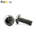 Button Head Torx Tamper Resistant Security Machine Screw