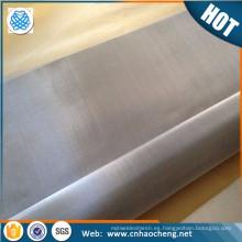 Filtro de gas de aceite de alta resistencia a la corrosión malla de alambre de molibdeno 50 80 150 malla