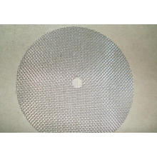 Disco de filtro de aço inoxidável sinterizado de camada única