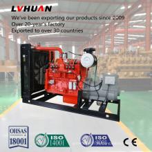 Holzvergasungs-Kraftwerk-Holzpellet-Generator auf Holz