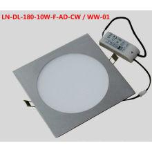 Luz llevada del techo abajo, 11w, CA de 100 a 240v, blanco fresco / caliente de 550 a 650lm, 3 años de garantía CE certificación de ROHS