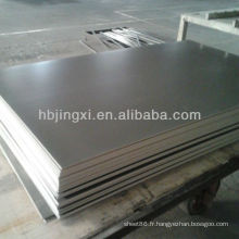 Feuille de PVC de 2mm gris