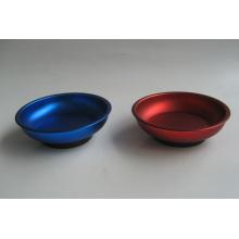 Bandeja de piezas magnéticas de diferentes colores